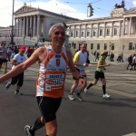 2013 - Paolo a jeho prvý maratón v deň narodenín